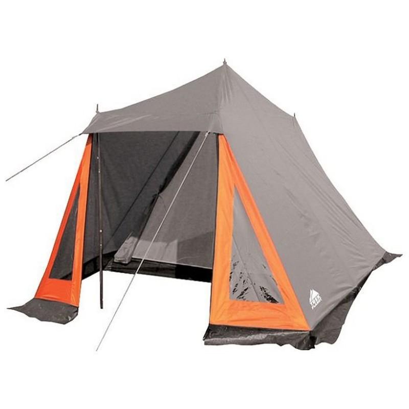 Палатка Trek Planet Indiana 150 серый/оранжевый