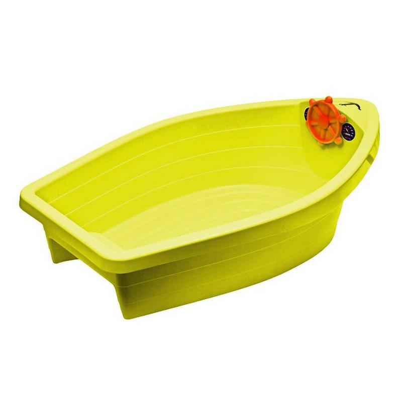 Песочница-бассейн PalPlay Лодочка 308 жёлтый механизм сливной alca plast a08