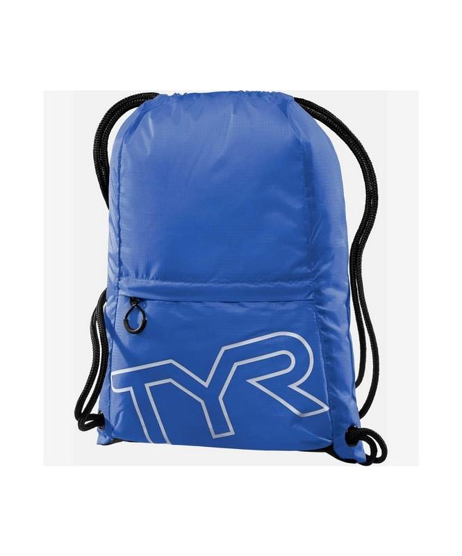 Купить Рюкзак TYR Drawstring Backpack, LPSO2/428, синий,