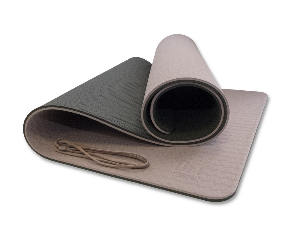 Мат для йоги Original Fit.Tools FT-YGM10-2LT-PREMIUM