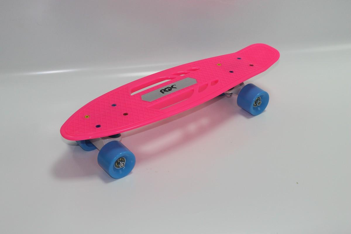 Мини-круизер RGX PNB-08 pink скейтборд rgx small 2