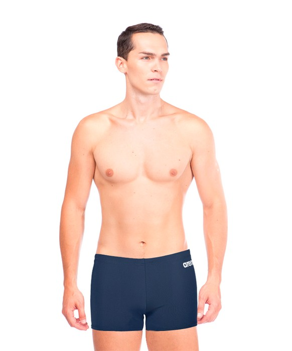 Плавки-шорты мужские Arena Solid Short Navy/White (2A257 75)