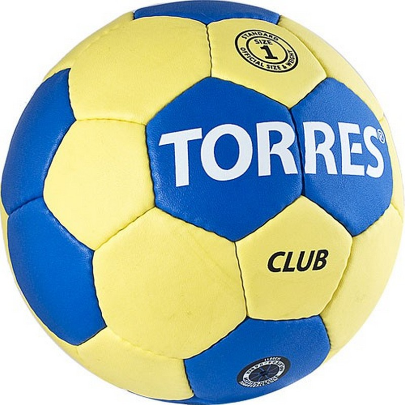 Мяч гандбольный Torres Club №1 H30011 мяч футбольный torres winter street 5 резина