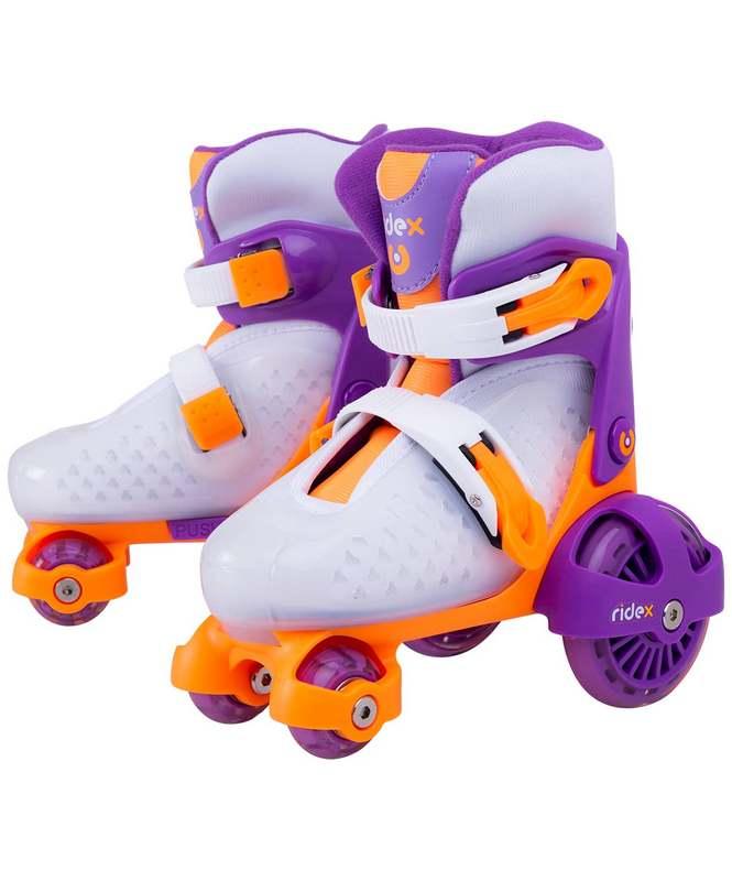 Купить Ролики раздвижные Ridex Fortuna Purple, пластиковая рама,