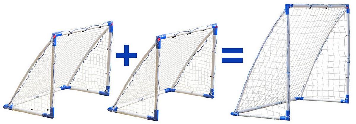 Разборные ворота-трансформеры для футбола, флорбола, гандбола Vinger 2 в 1 54.002.00.0
