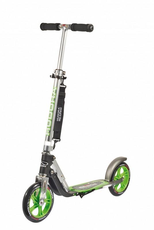 Самокат Hudora Big Wheel GS 205, green нож stanley 0 10 189