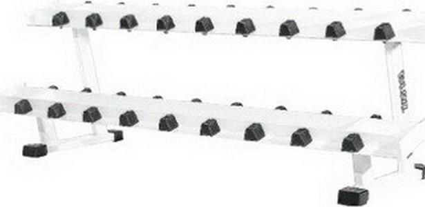 Стойка под гантели Vasil Gym (для набора из 10 пар) В.220 сушка для посуды и продуктов ругес водосток цвет светло зеленый серый металлик