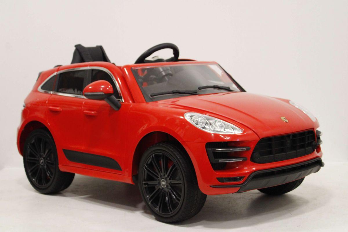 Купить Детский Электромобиль River-Toys Porsche Universal A555AA c дистанционным управлением, красный, Детские электромобили