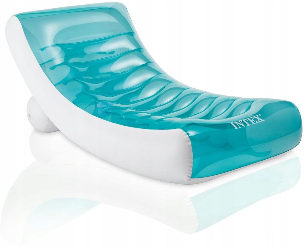 Купить Надувной матрас-шезлог для плавания 188x99 см Intex 58856,