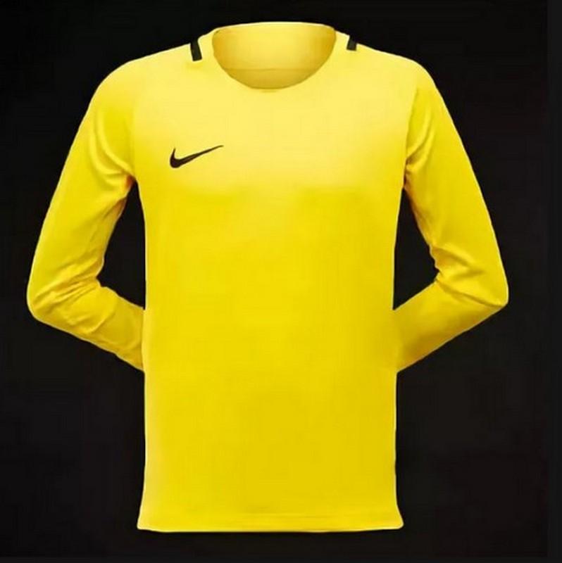 Свитер вратарский Nike Park Iii Jsy Ls Gk 894516-741 детский, желтый