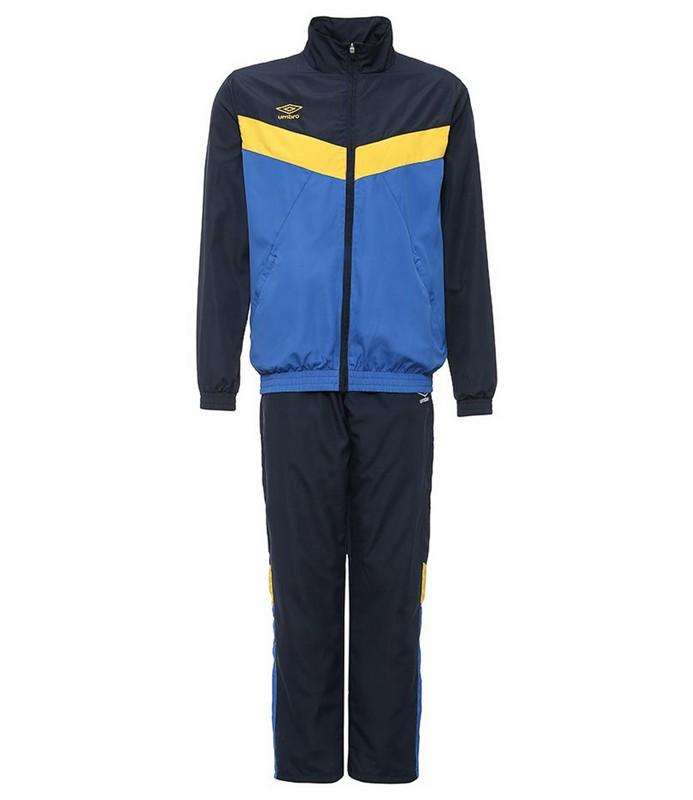 Костюм спортивный Umbro Unity Lined Suit брюки прямые 463115 (793) син/т.син/жел.