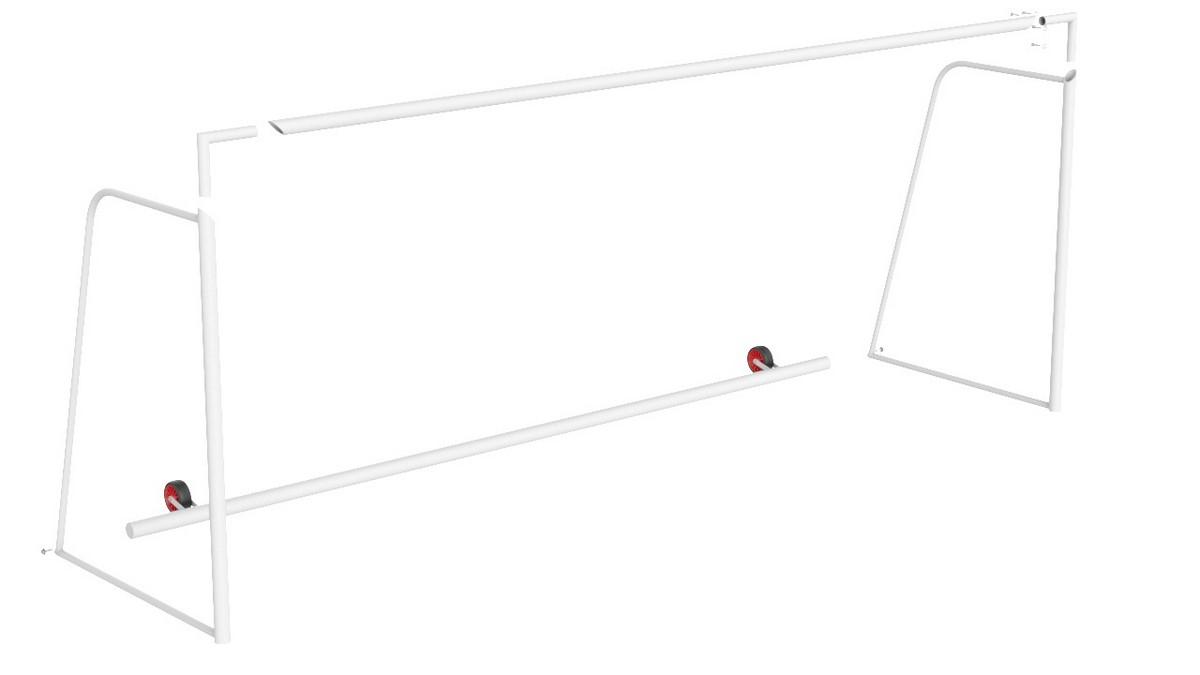 Купить Ворота футбольные с противовесом, разборные (5х2 м) Glav 15.108 шт,