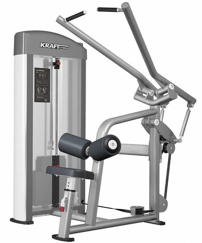 Тяга сверху Kraft Fitness KFDLAT регулируемая скамья kraft fitness kffiuby