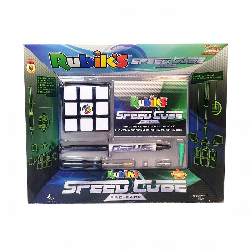 Скоростной кубик Рубика 3х3 (2015) от Дом Спорта