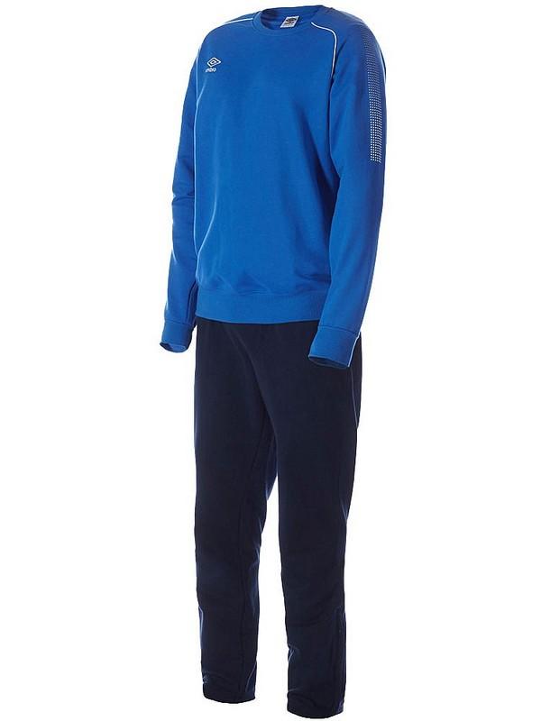 Костюм спортивный Umbro Prodigy Team Cotton Suit мужской 350215 (791) син/т.син/бел.