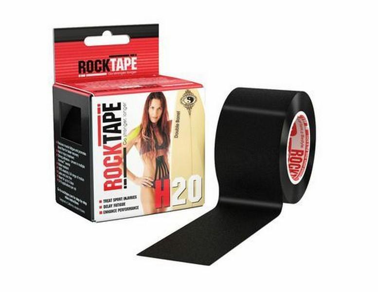 Кинезиотейп RockTape H2O, черный 2167 от Дом Спорта