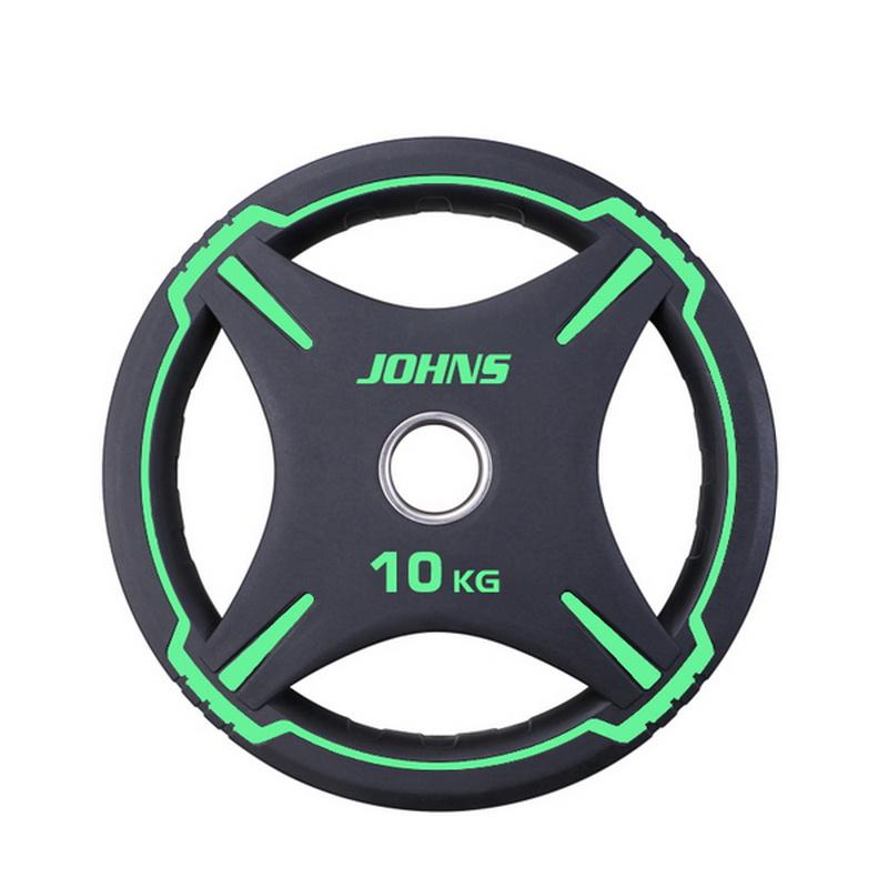 Купить Диск Johns D50мм чёрно-эелёный 10 кг 91030 - 10ВC,
