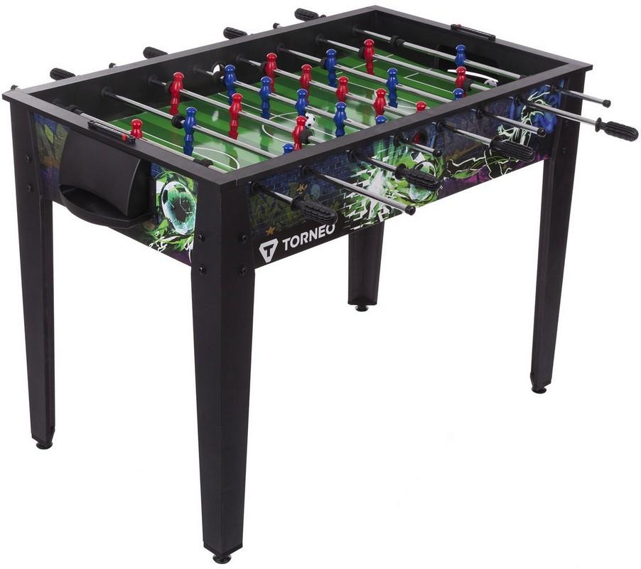 Купить Настольный футбол Torneo S17ETOAG002-BU черный/зеленый