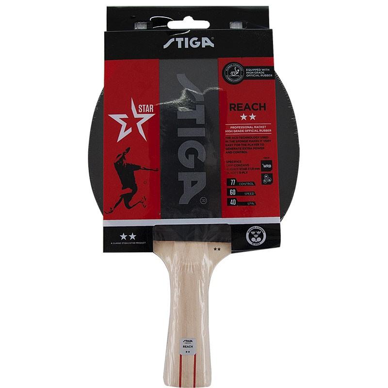 Купить Ракетка для настольного тенниса Stiga Reach WRB 2**, 1212-8618-01,