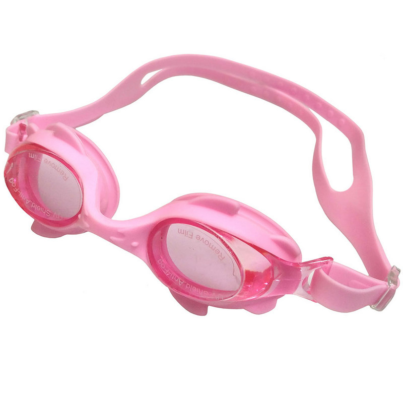 Купить Очки для плавания детские C33231-2 (розовые), NoBrand