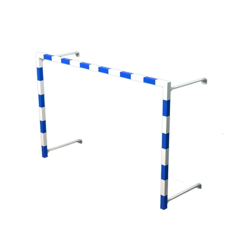 Купить Ворота для гандболамини-футбола 3х2 м сталь складные, пристенные Dinamika ZSO-002837,