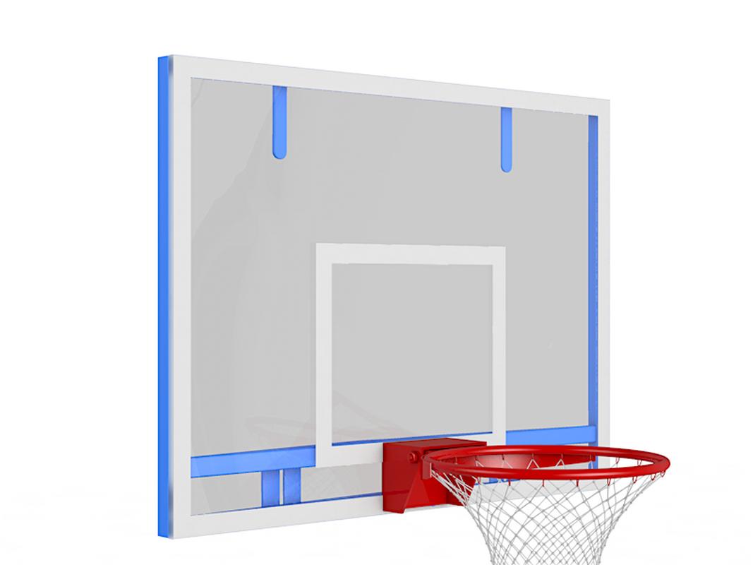 Купить Щит баскетбольный тренировочный из оргстекла Glav 01.202,