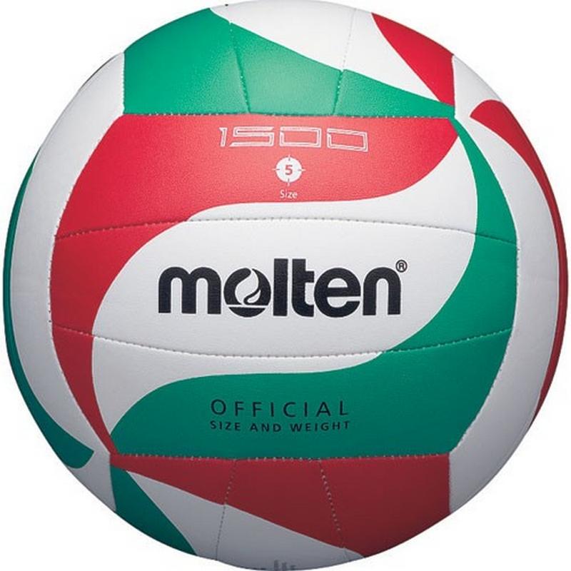 Мяч волейбольный р.5 Molten V5M1500 мячи pic n mix мяч массажно игровой большой 18 см