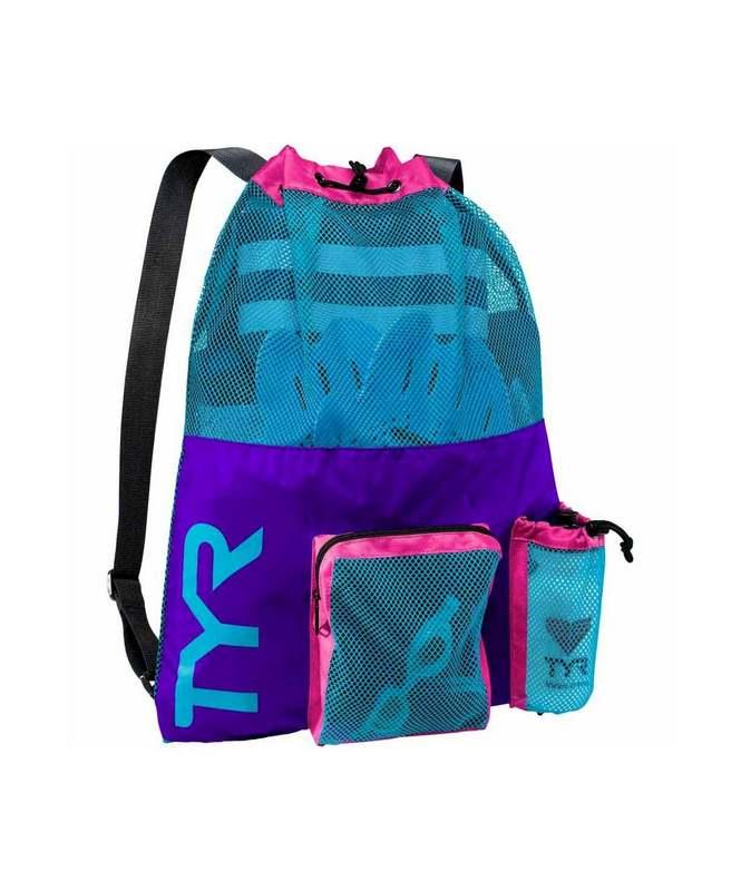 Купить Рюкзак для аксессуаров TYR Big Mesh Mummy Backpack, LBMMB3/545, фиолетовый,