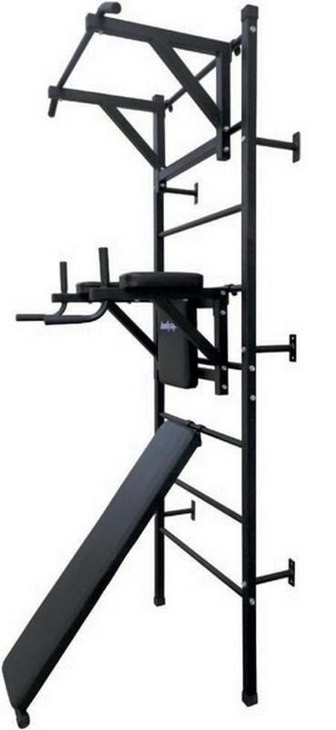 Шведская стенка с навесным оборудованием (к стене) Body Gym Wall Bench турник пресс брусья bronze gym h 027