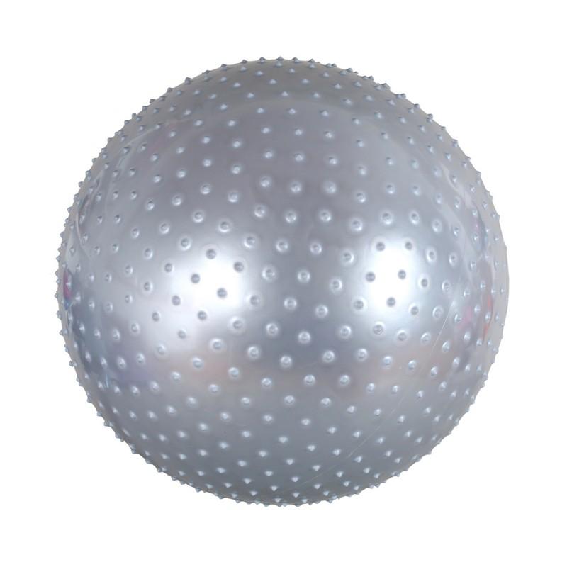 Мяч массажный Body Form BF-MB01 D=55 см. серебристый