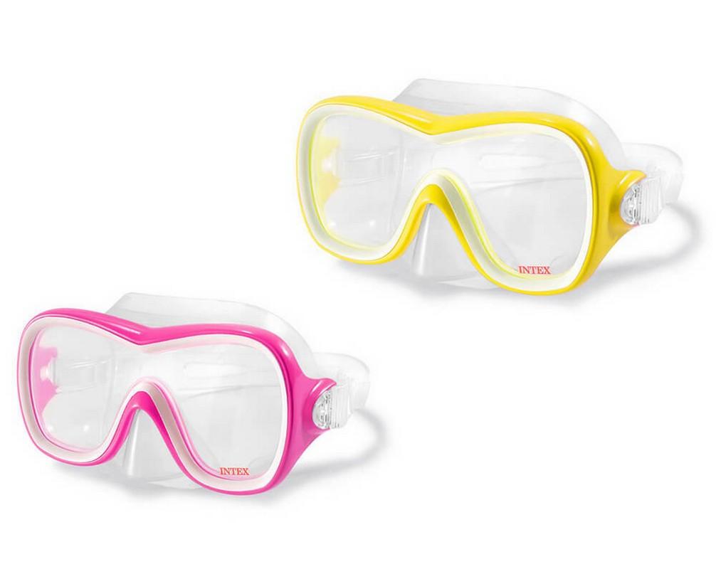 Купить Маска для плаванья Intex Wave Rider Masks, два вида 55978,