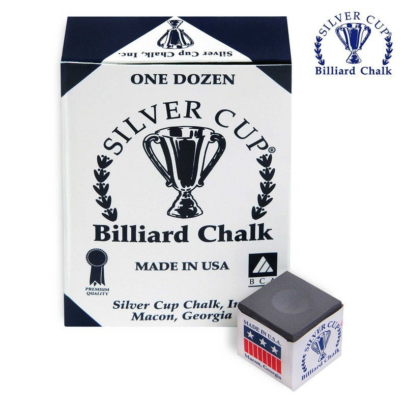Мел Silver Cup Charcoal 12шт. мел silver cup blue 12шт