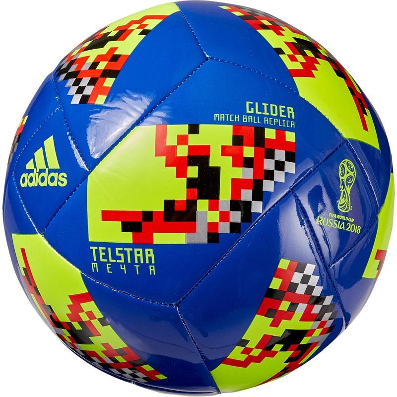 Мяч футбольный Adidas WC2018 Telstar Мечта Glider CW4687 р5