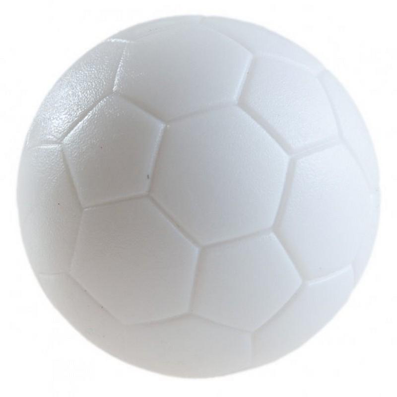 Купить Мяч для настольного футбола WBC текстурный пластик, D 31мм AE-02 белый, Weekend Billiard Company, Аксессуары для настольного футбола