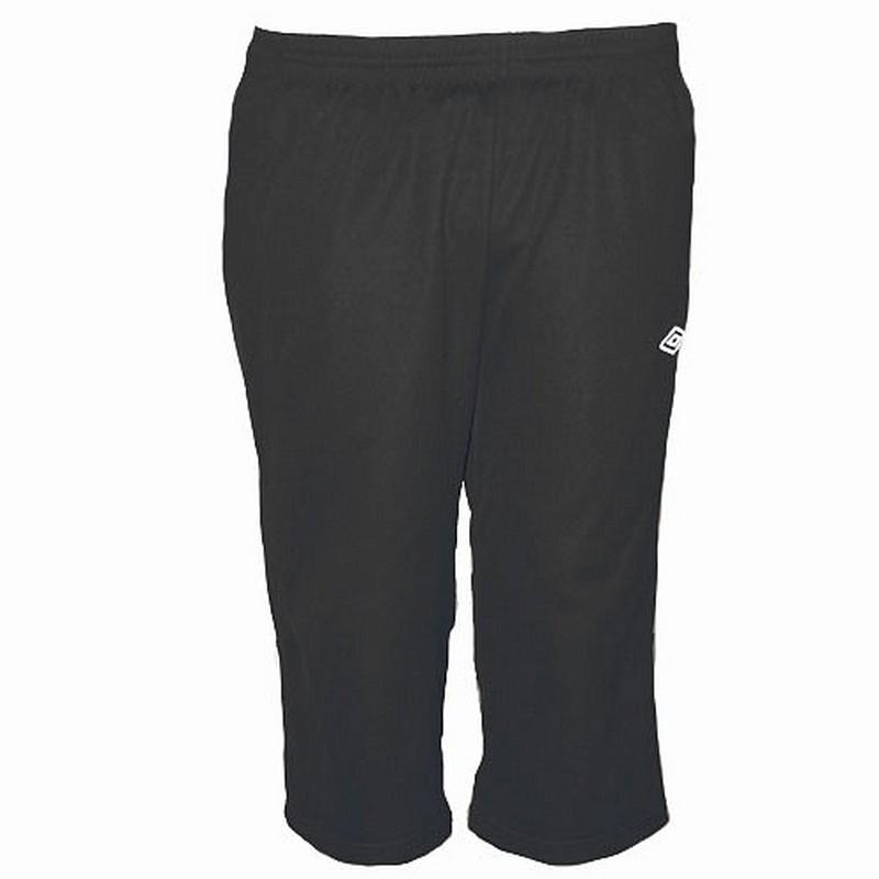 Брюки тренировочные Umbro Training pant 3/4 мужские 374010 (611) чер/бел. цена