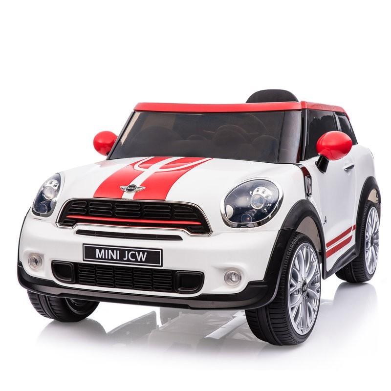 Электромобиль River-Toys Mini Cooper JJ2258 (лицензия) белый