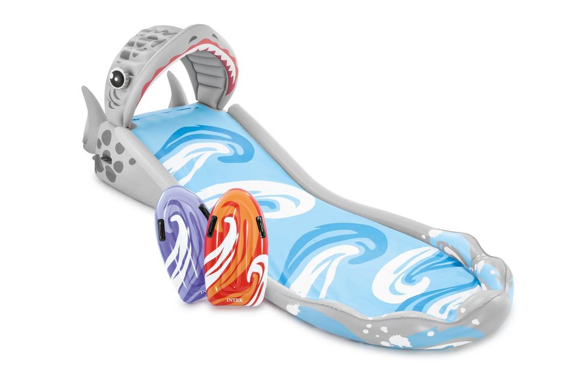 Купить Надувная горка для серфинга Intex 460х168х157см 57159,