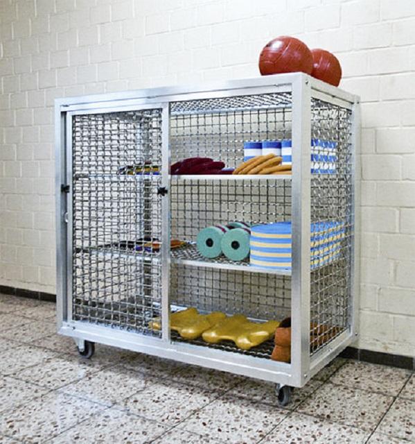 Шкаф для акваинвентаря универсальный  125х125х62см