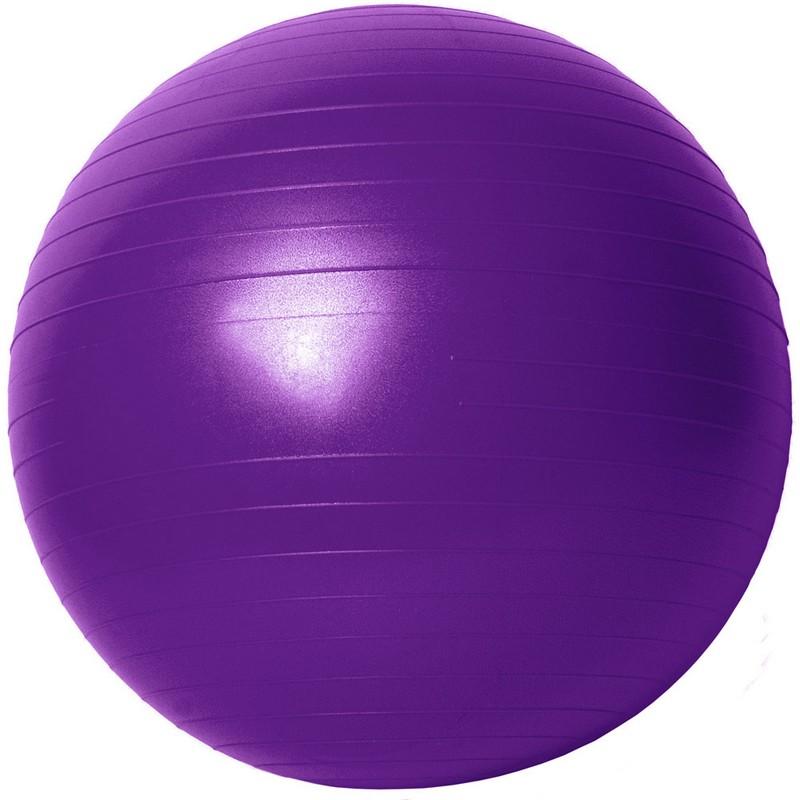 Купить Гимнастический мяч Gym Ball B31170-3 90 см фиолетовый, NoBrand