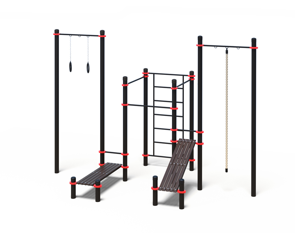 Купить Гимнастический комплекс для воркаута Stecter (PAW-21) 5000-89,