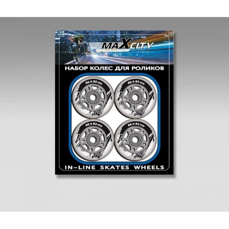 Роликовые колеса MaxCity -ISW 70 PUC Led