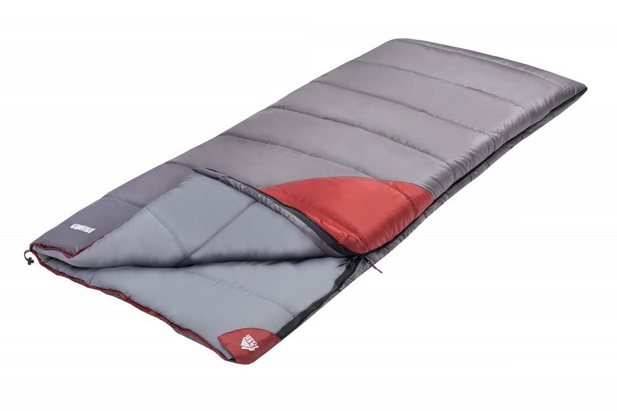 Спальник Dreamer Trek Planet 70386-L серый\бордовый
