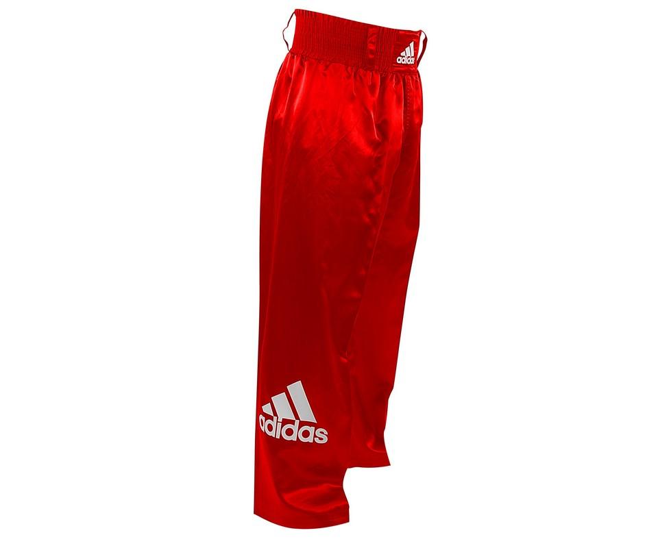 Брюки для кикбоксинга Adidas Kick Boxing Pants Full Contact adiPFC03 красные adidas adidas base plain pants