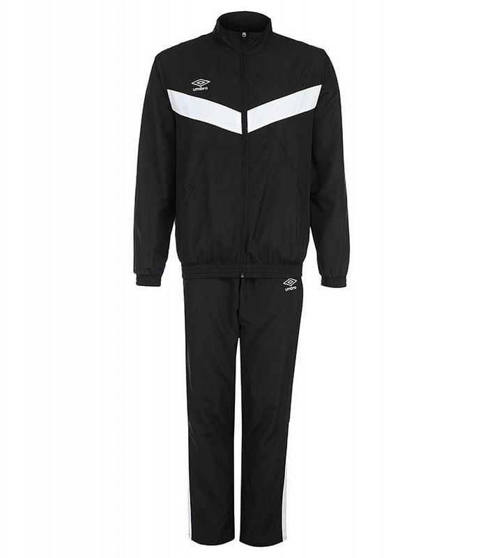 Костюм спортивный Umbro Unity Lined Suit брюки прямые 463115 (661) чер/бел.