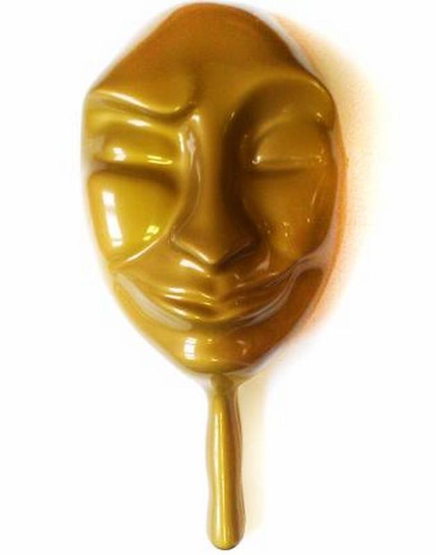 Маска для мафии Лицемер mask2 золотая