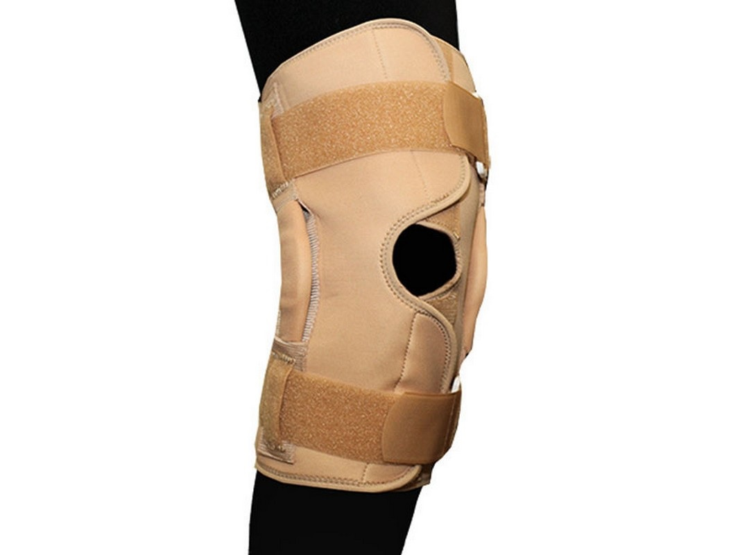 Бандаж на коленный сустав фиксирующий с ребрами жесткости и отверстием разъемный Titan Deutschland GmbH BKFO C1KN-503