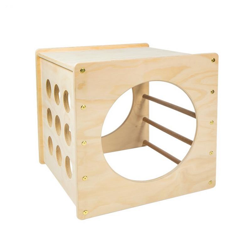 Купить Куб игровой модуль детский Dinamika из дерева,