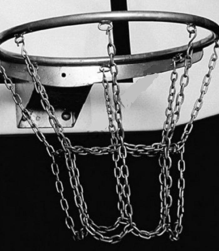 Кольцо баскетбольное оцинкованное №7, 12 пунктов крепления сетки Pesmenpol