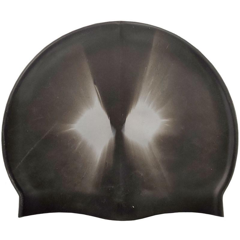 Купить Шапочка для плавания силиконовая B31518-1 (черная), NoBrand