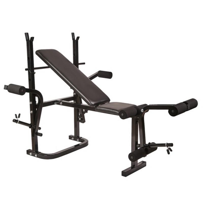 Купить Силовая скамья со стойками Royal Fitness BENCH-1520,